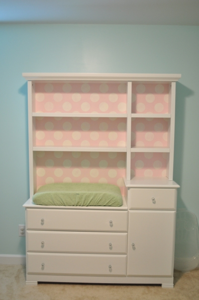 Changing Table Makeover The Teal Magnolia