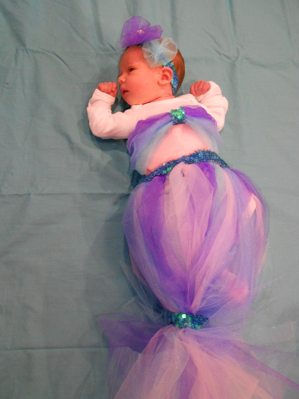 Infant mermaid costume diy super easy the teal magnolia now solutioingenieria Images