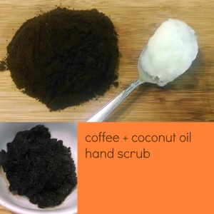 the teal magnolia | coffee + coconut oil scrub